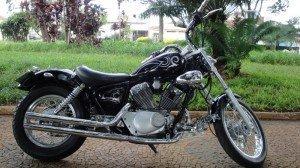 Virago 250 Black