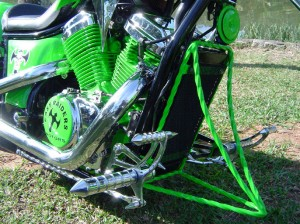 Iguana moto customizada easy raiders