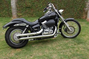 Piscas Originais Honda Shadow 750 2012